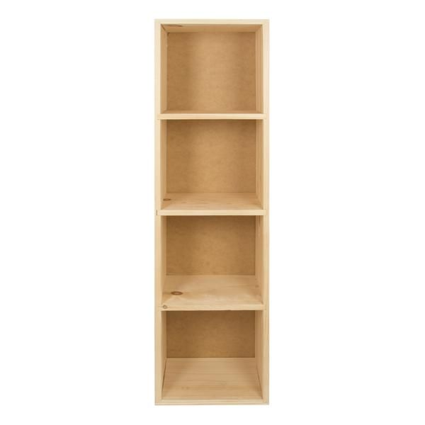 Unfinished Wood Cube 4 High A C Moore Unfinished Wood Cube Storage Shelves Wood