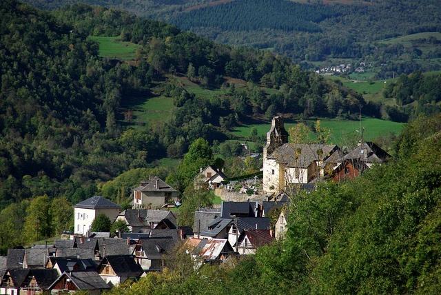 Ayet-en-Bethmale (Ariège/Pyrénées) on voit la maison