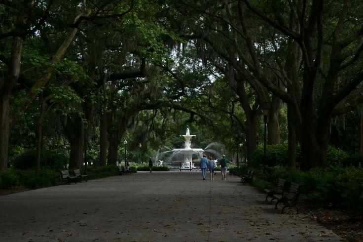 Savannah, Georgia (Саванна, Джорджия)