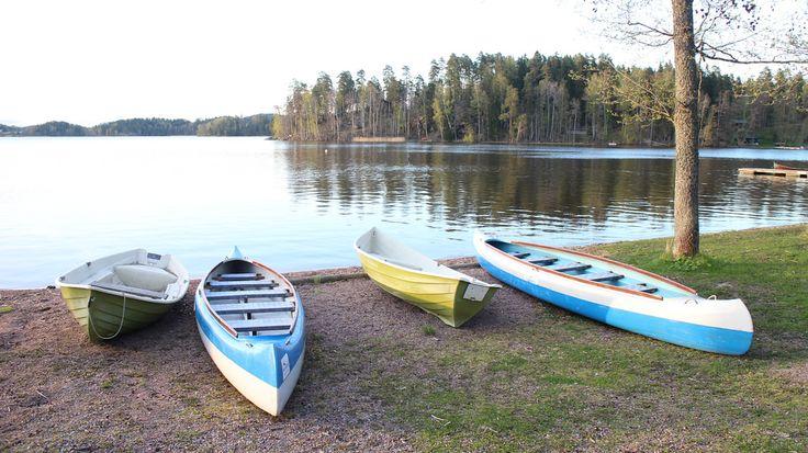Canoeing #Lohja #Finland #visitsouthcoastfinland