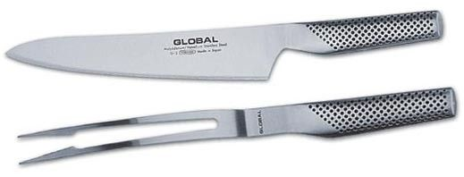 2 PC Carving Set 71G313 Price: $229.99 Set comprises of: G-3 Carving Knife (23cm). G-13 Curved carving fork. To order call 905·885·9250. (Prices subject to change without notice)