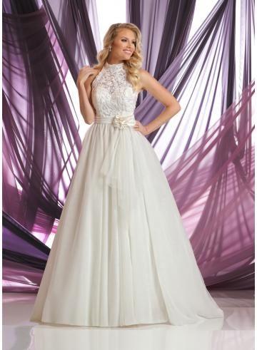 tulle -line abiti da sposa da sposa
