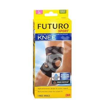 Suport controlul umiditatii pentru genunchi, marimea L, Futuro [4046719423422] - medicamente recomandate pentru Plasturi si pansamente