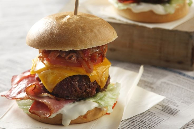 Why don't you take this opportunity to celebrate Hamburger Day, by having a barbeque at home with your friends? Make them the best homemade burger EVER!
