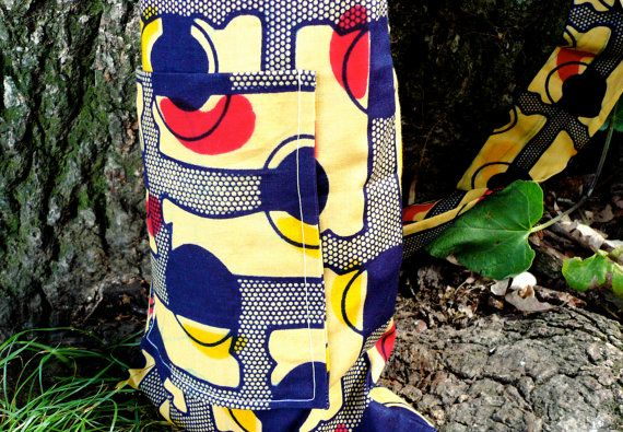 Primary Colors Yoga Mat Bag by SuelaDesigns on Etsy