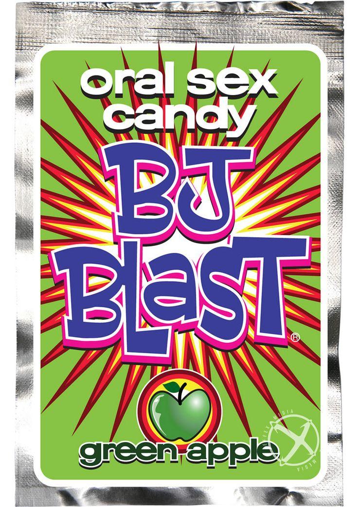 Buy Bj Blast Oral Sex Candy Green Apple online cheap. SALE! $1.99