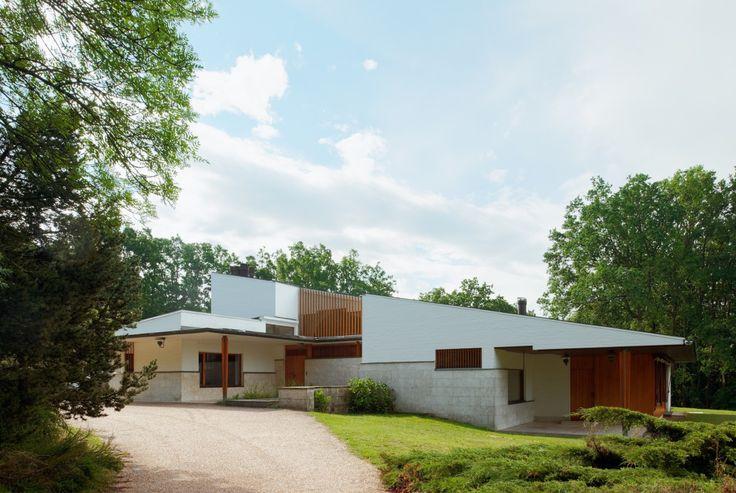 Alvar aalto maison louis carr bazoches sur guyonne for Alvar aalto maison