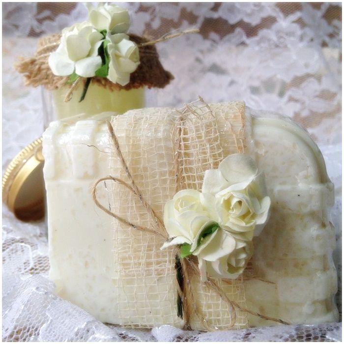Sabonete de casamento - Luz e Aroma Sabonetes  Finos e Afins