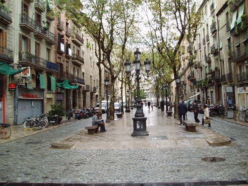 El Born Neighborhood. A stylish barrio that houses some of Barcelona's great sights: the Picasso Museum, the Palau de la Musica Catalana, and the Basilica de Santa Maria del Mar!