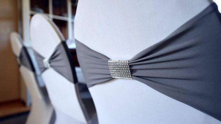 Trend Stretchbänder mit Glitzerband