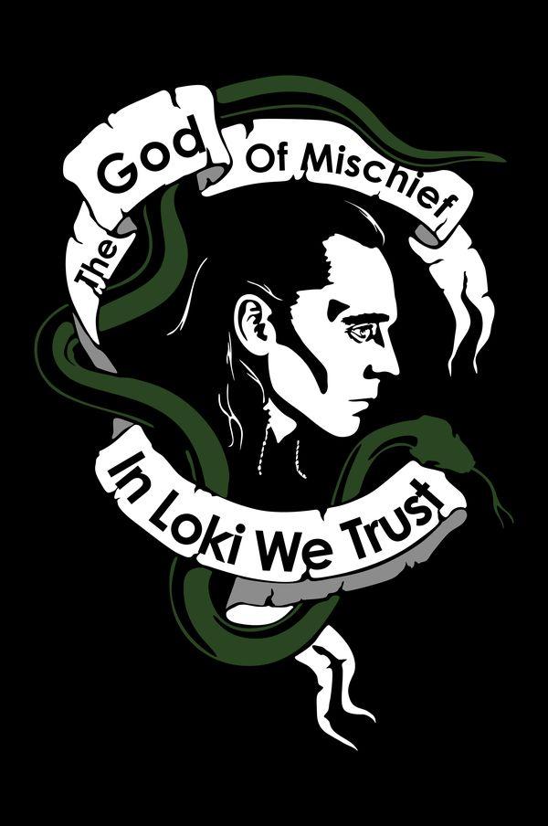 Loki - The God of Mischief by Mad42Sam.deviantart.com on @deviantART >>> In Loki's rage we trust ;)