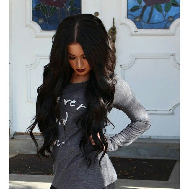 Long Black Hair Extensions Tumblr Dallas Extension Hair
