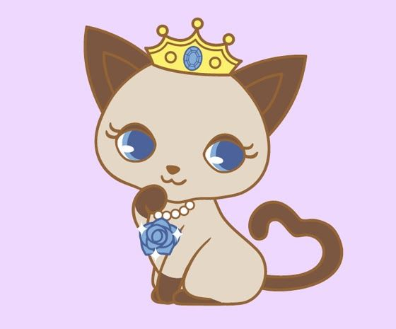 I USED TO BE SCARED OF CATS: Sanrio - Jewel Pet - Cats