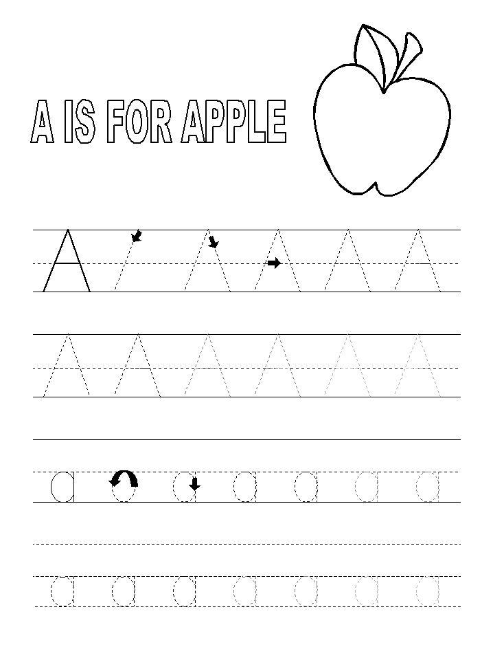 template | Preschool tracing, Preschool alphabet ...