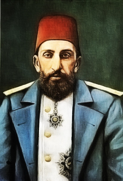 His Imperial Majesty, The Sultan Abdülhamid II (r,1876-1909), Emperor of the Ottomans, Caliph of the Faithful. He was the last Sultan to exert effective control over the Ottoman Empire. During his tenure, he was responsible for both modernisation of the Ottoman Empire, as well as exerting maximum control over its affairs.