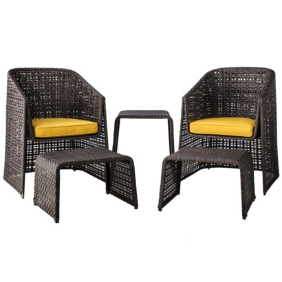 Love This From Target! Threshold™ Ordway 5 Piece Wicker Patio Chat Furniture  Set