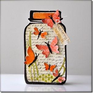 jar of butterflies