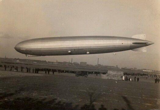 zeppelin léghajó csepelen, budapest, 1931 március 29