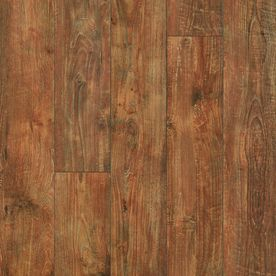 Pergo Max 6.14-in W x 3.93-ft L Shabby Teak Embossed Laminate Wood Planks