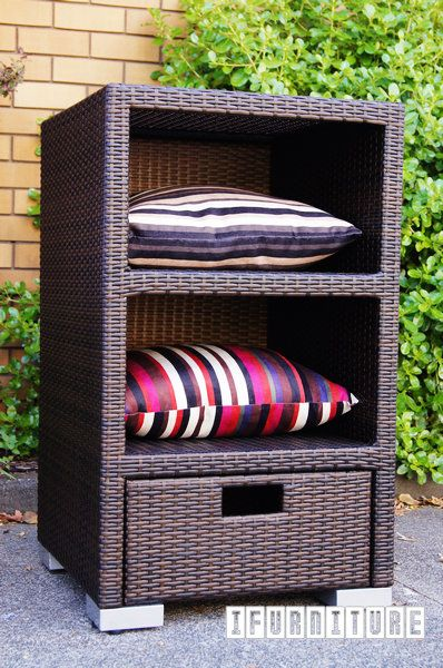 IOLA Rattan Storage Shelf/Locker , Outdoor, NZ's Largest Furniture Range with Guaranteed Lowest Prices: Bedroom Furniture, Sofa, Couch, Lounge suite, Dining Table and Chairs, Office, Commercial & Hospitality Furniturte
