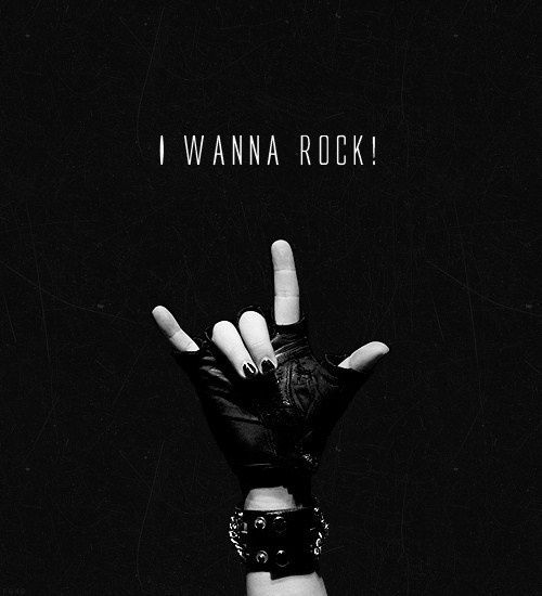 """I Wanna Rock"" ... you will probably all like GuitarBasics.com new Pinterest Boards."