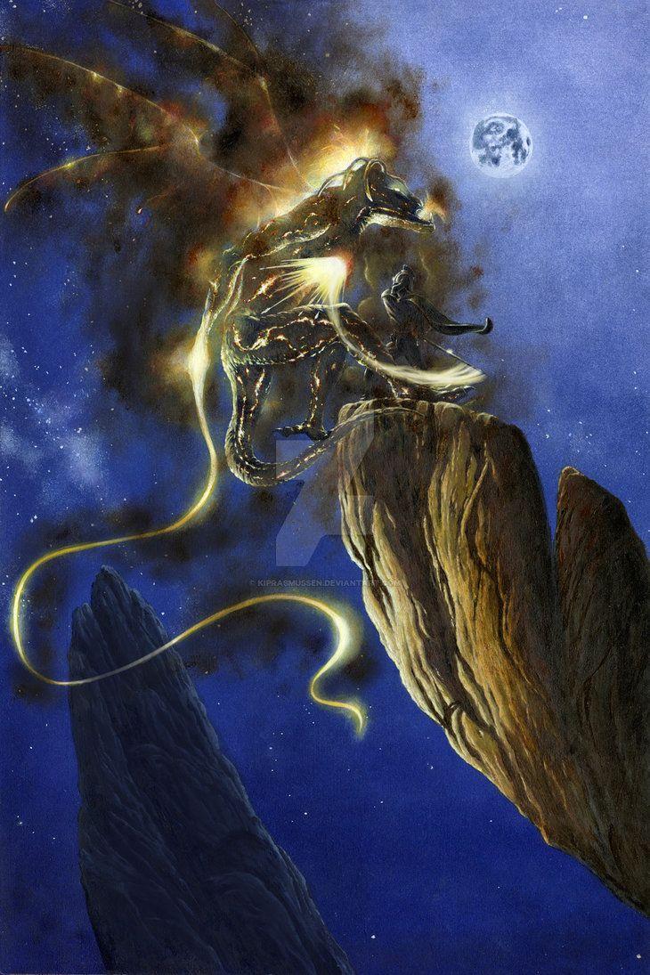 Glorfindel Duels a Balrog of Morgoth by KipRasmussen on DeviantArt