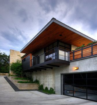 Best Modern Home Wood Roof Overhang Design Ideas Pictures 640 x 480