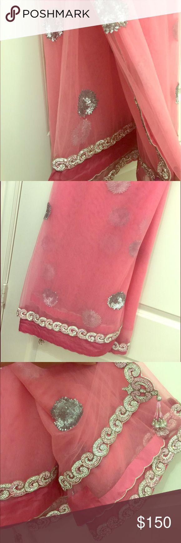 Designer Indian Saree (never worn) Beautiful Net Saree never worn. Other