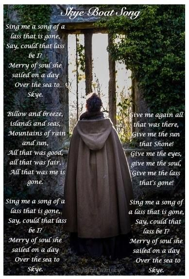 """The Skye Boat Song"" with lyrics by Bear McCreary 