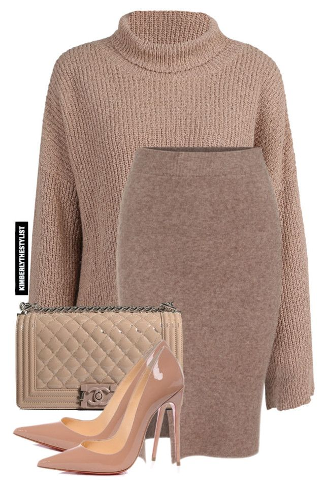 """""""Untitled #2108"""" by whokd ❤ liked on Polyvore featuring Chanel and Christian Louboutin"""