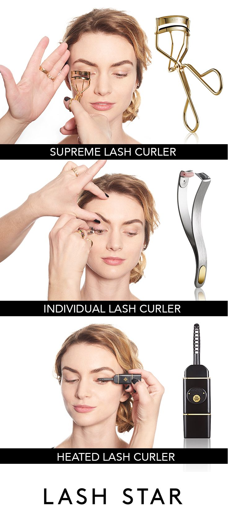 heated eyelash curler results. discover our collection of gold eyelash curlers, individual lash and heated curlers false applicator tools makeup brushes. curler results