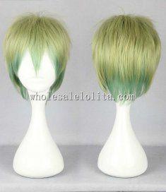 Cosplay Lolita Wig Mix Color Short Hair