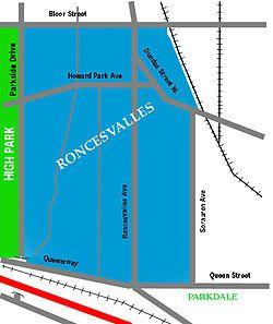 Roncesvalles, Toronto - Wikipedia masterpage