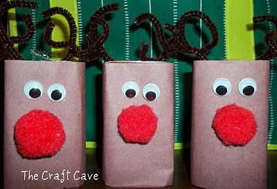 Juice Box Reindeer - Fun Idea for a children's Christmas party.