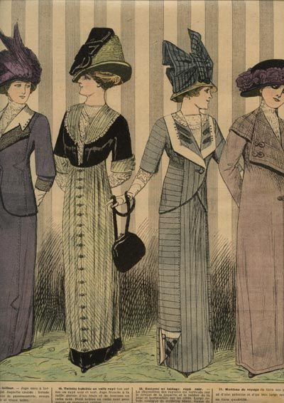 Early 1910 Fashion