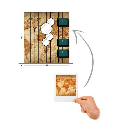 Decora la camera da letto con la tua immagine preferita grazie a Stripes Boiserie. Per saperne di più: http://blog.zanette.it/it/2013/07/decora-la-camera-da-letto-con-la-tua-immagine-preferita/  #arredamento #mobili #cameredaletto