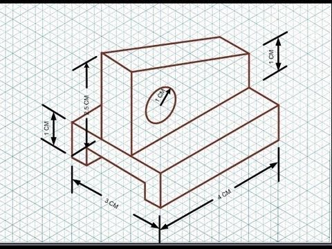 isometric drawing exercises for beginners pdf