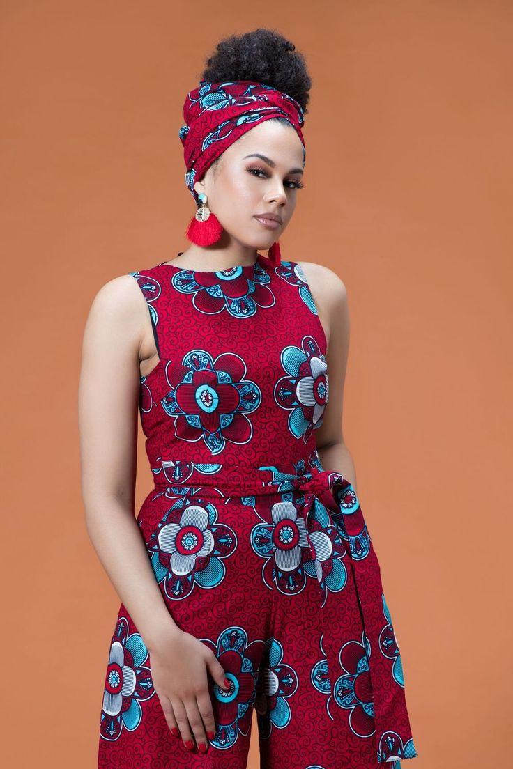 African Print Lanna Headwrap| Grass-fields| Elegant