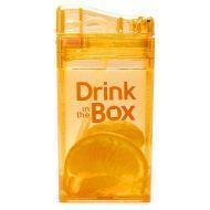 DRINK IN THE BOX Bidon ze słomką orange 240ml