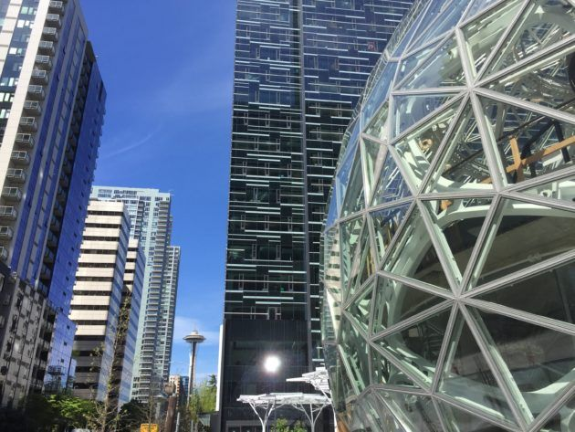 Building permit analysis sheds light on how much Amazon has spent on massive Seattle footprint