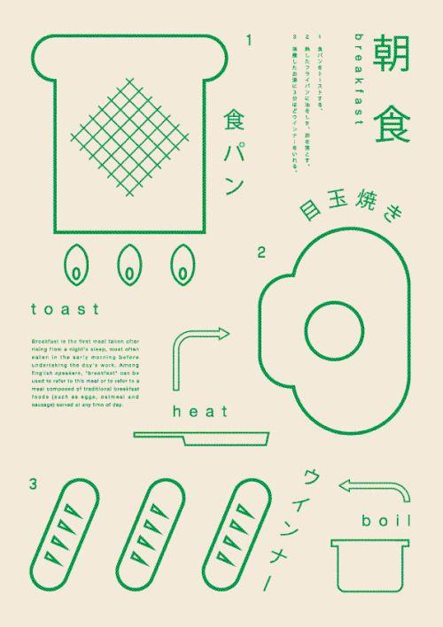 shirokuuma: 朝食 Design : Ryo Kuwabara