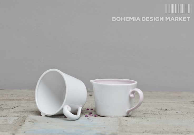 Classic big mug with variations handles Sizes 10x10 cm  #classic #big #mug #local #Czech #design