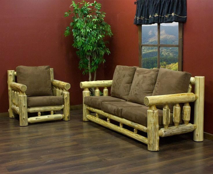 35 best images about log furniture on pinterest for Log cabin furniture canada