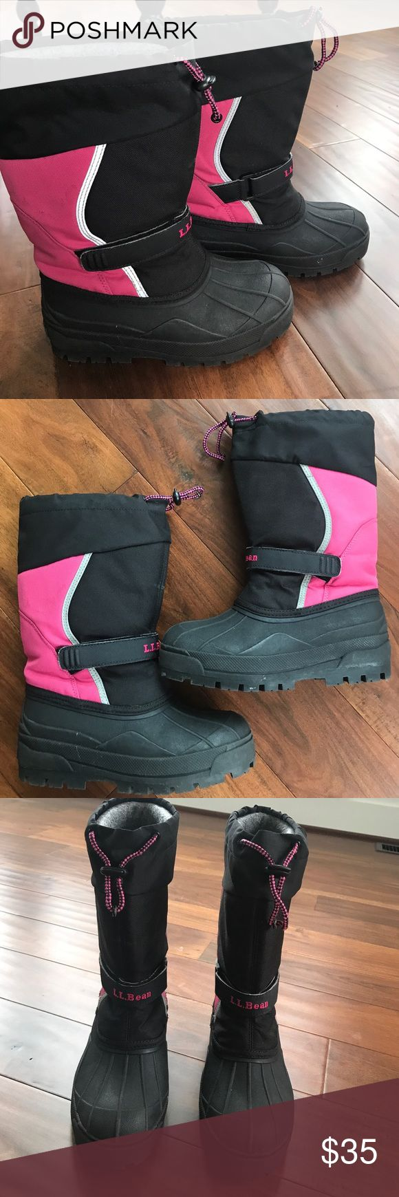 L l bean order form - Ll Bean Winter Boots Size 4