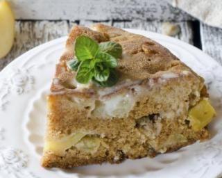 Gâteau au yaourt à la pomme sans sucre ajouté : Savoureuse et équilibrée | Fourchette & Bikini