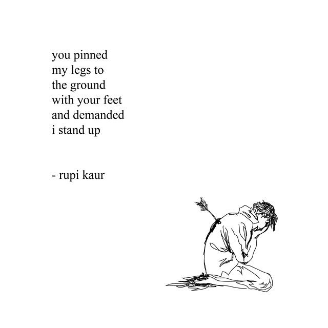 Rupi Kaur Quotes Endearing 16 Best Rupi Kaur Quotes Images On Pinterest  Words Quote And Rupi
