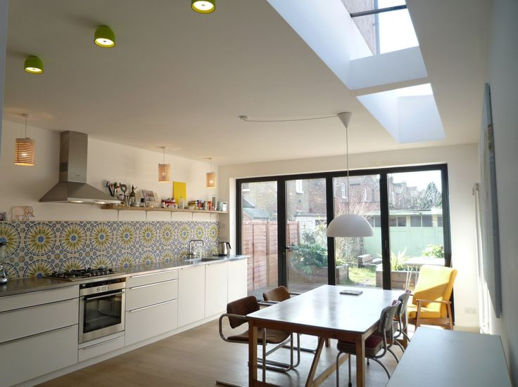 Rear Extension, Terraced House And Side Return