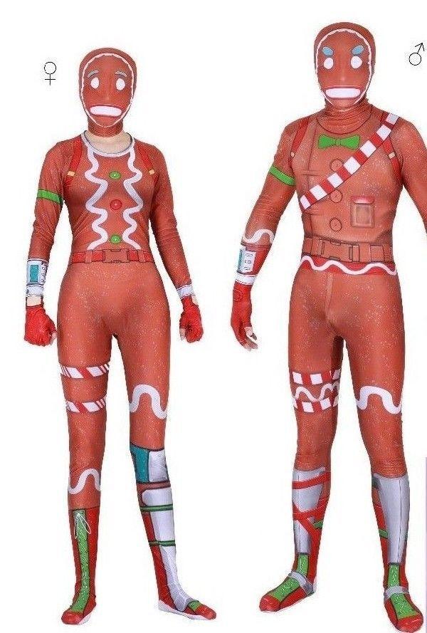 promo fortnite merry marauder ginger gunner costume best price male female - fortnite valentines skins price
