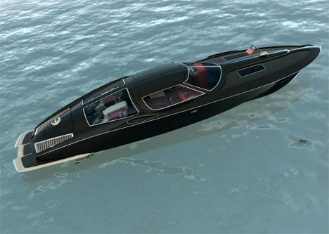 Corvette Stingray Inspired Boat By Bo Zolland Yanko Design
