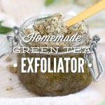 Homemade Green Tea Facial Exfoliator